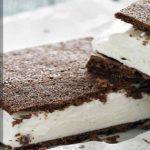 Мороженое-сэндвич (рецепт бисквитной основы)