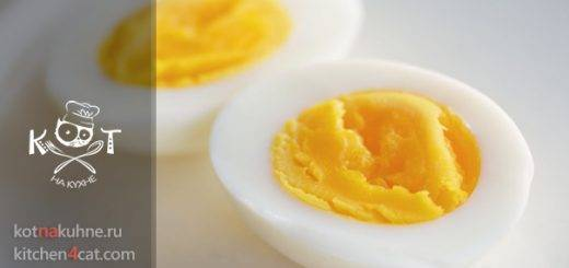 Как сварить яйца правильно