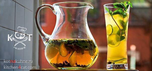 Домашний холодный чай | Рецепты летних напитков