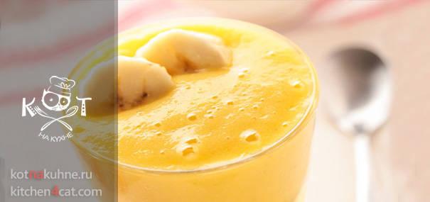 Апельсиново-банановый смузи (коктейль)