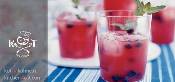 Арбузный коктейль с текилой