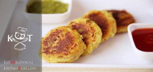 Рисовые лепешки с луком - вегетарианские котлеты