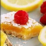 Лимонное пирожное с нежным масляным кремом