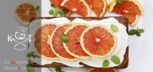 Влажный грейпфрутовый кекс