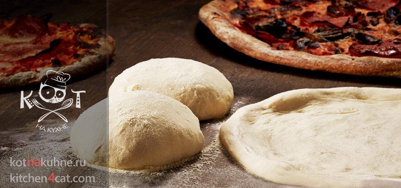 Кефирное тесто как основа для пиццы без дрожжей