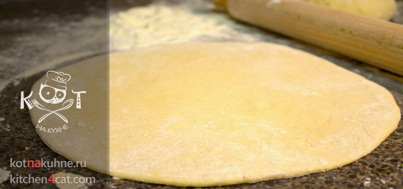Дрожевое тесто без яиц как основа для пиццы