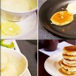 Фитнес-панкейки с секретом (творожные блинчики с ананасом без сахара)