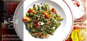 Чечевица Табуле с мятой и помидорами (рецепт от Джейми Оливера)