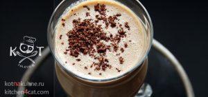 Кофе со сгущенным молоком, какао и кориандром