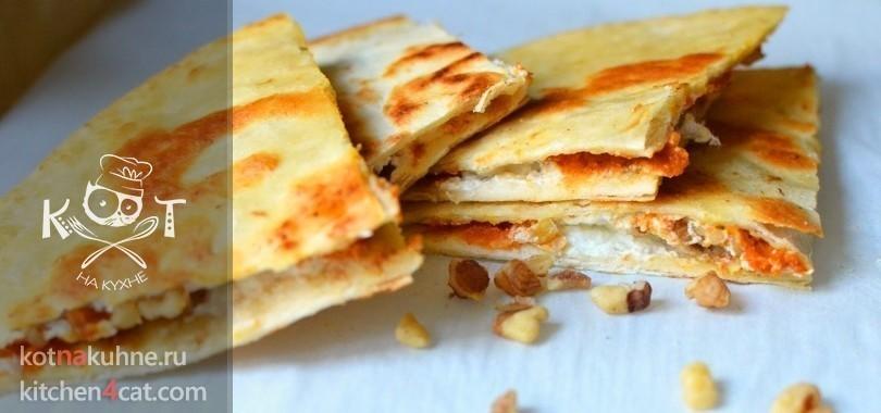 Лепешки с тыквой по-мексикански