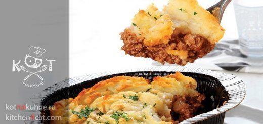 Деревенский Картофельный пирог с говядиной