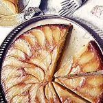 Пряный грушевый пирог с орехами (Рецепт Джейми Оливера)