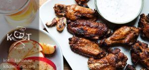 Как разделывать куриные крылышки