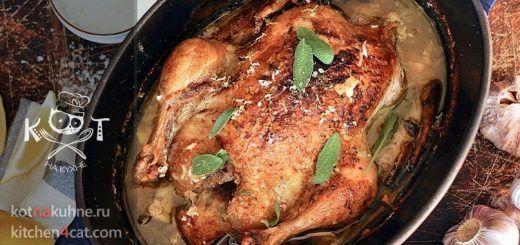 Курица, запеченная целиком в молоке (рецепт Джейми Оливера)
