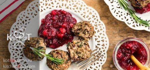 Хрустящие шарики из грибов с орехами (Рецепт от Джейми Оливера)