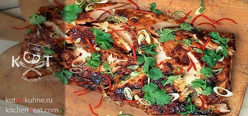 Маринованная красная рыба на гриле (Рецепт Джейми Оливера)