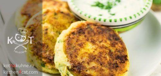 Картофельные котлеты с горбушей консервированной (Рецепт от Джейми Оливера)