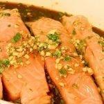 Маринад для рыбы с имбирем, соевым соусом и травами