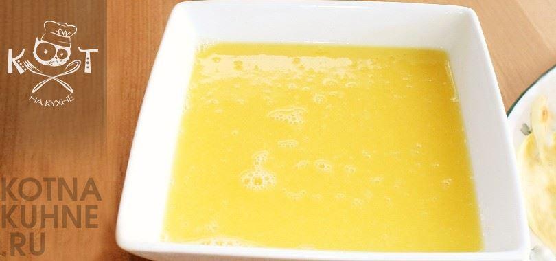Теплый апельсиновый соус на сливочном масле к мясу