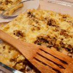 Запеканка из макарон с яйцами под сыром