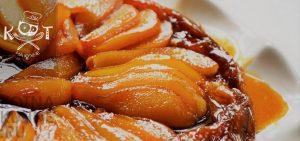 Яблочный тарт с грушами и айвой