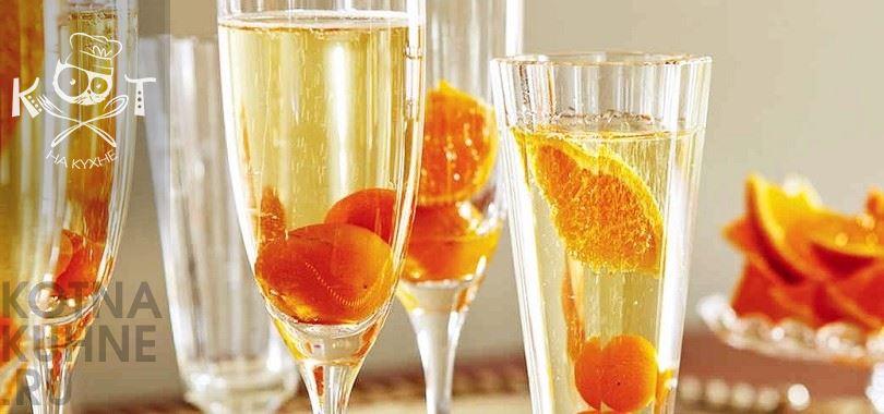 Алкогольный цитрусовый коктейль с кумкватом (рецепт от Марты Стюарт)