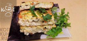 Рыбная запеканка: рыбный пирог без теста