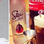 Алкогольный молочный коктейль с Кока Колой и мороженым