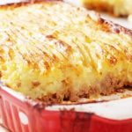 Сливочный картофельно-рыбный пирог-запеканка без теста