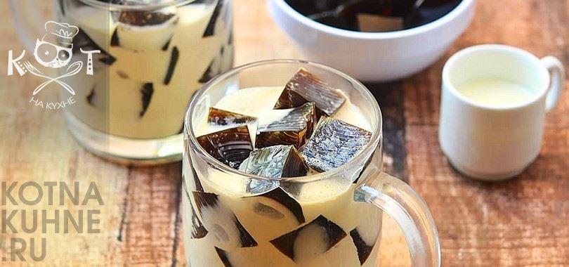 желе рецепт желатин кофе