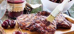 BBQ соус: 15-минутный вишневый соус барбекю без сахара