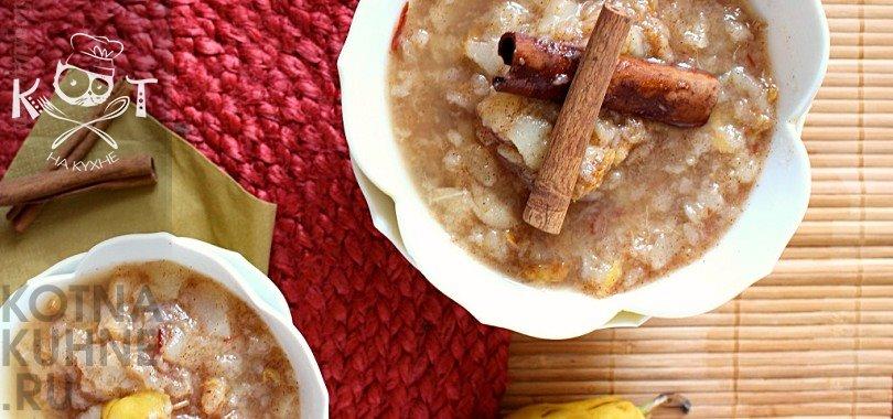 Грушевый соус с корицей к рыбе, мясу или сладкой выпечке