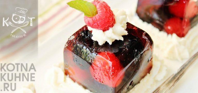 Диетические рецепты десертов с желатином