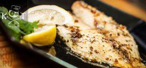 Рыба тилапия с лимоном и зеленью на пару (в мультиварке или пароварке)