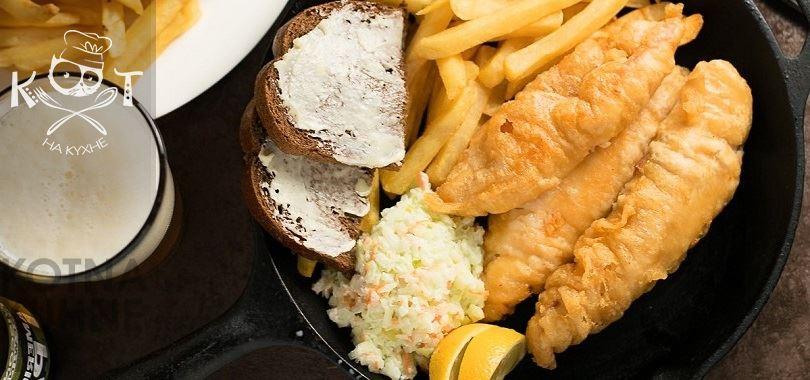 Рыба во фритюре с пивом: жареное филе тилапии в кляре