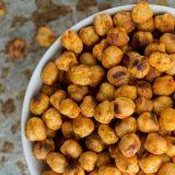 Еда к фильму: Жареный нут со специями в духовке без масла