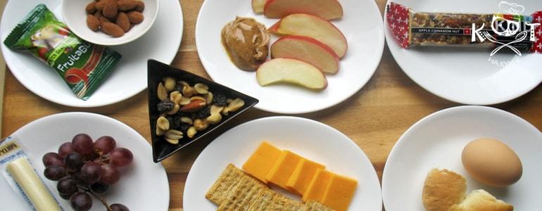 ТОП 13 полезных диетических перекусов до 200 ккал.