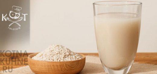 Как сделать рисовое молоко из крупы без варки?