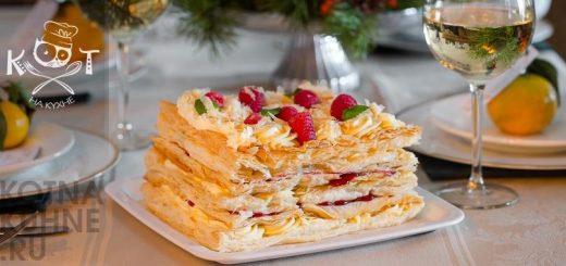 Постный заварной крем для Наполеона: 5 рецептов крема без яиц, молока, масла