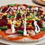 Постная пицца Барбекю с колбасой? | Рецепт домашней пиццы
