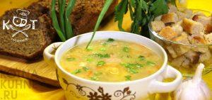 Густой гороховый суп без мяса, без зажарки (Vegan)